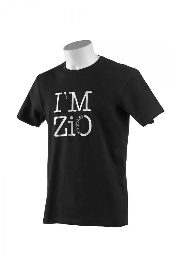 """T-shirt  Uomo Nera """"I'M Zio"""""""