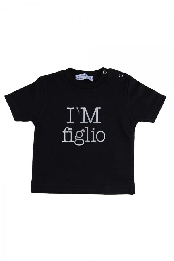 "T-shirt  Bambino Nera ""I'M..."