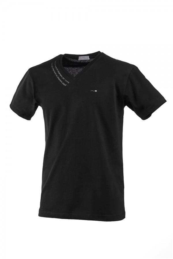 "T-shirt  Uomo Nera ""Aforisma"""