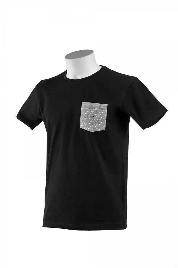 "T-shirt  Uomo Nera ""Pocket"""