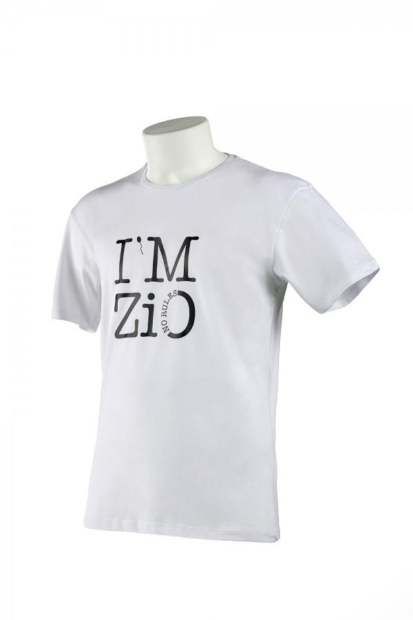 "T-shirt  Uomo Bianca ""I'M Zio"""