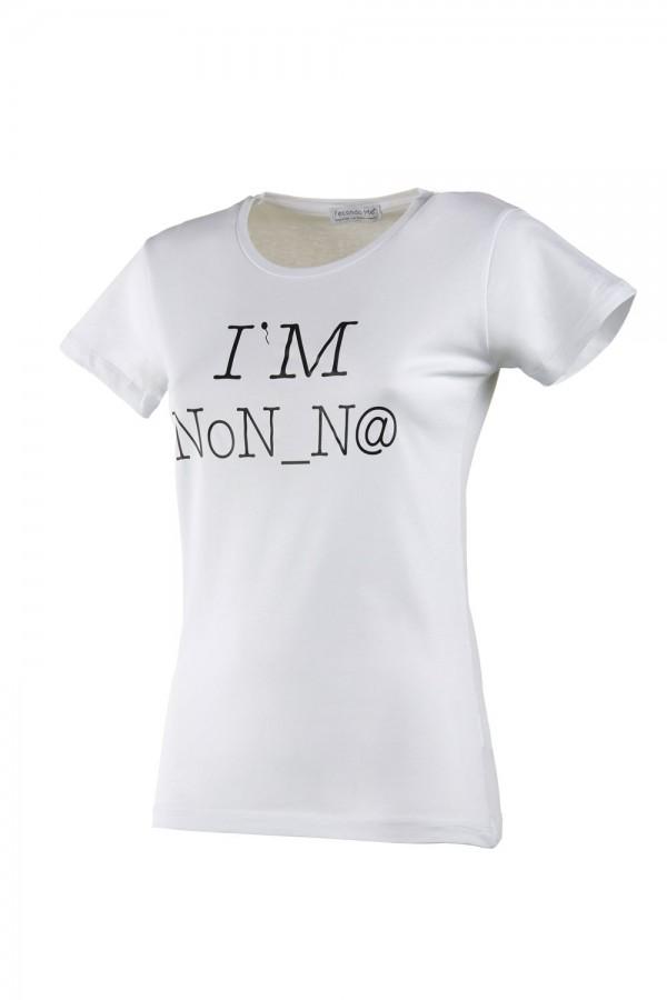 "T-shirt  Donna Bianca ""I'M..."