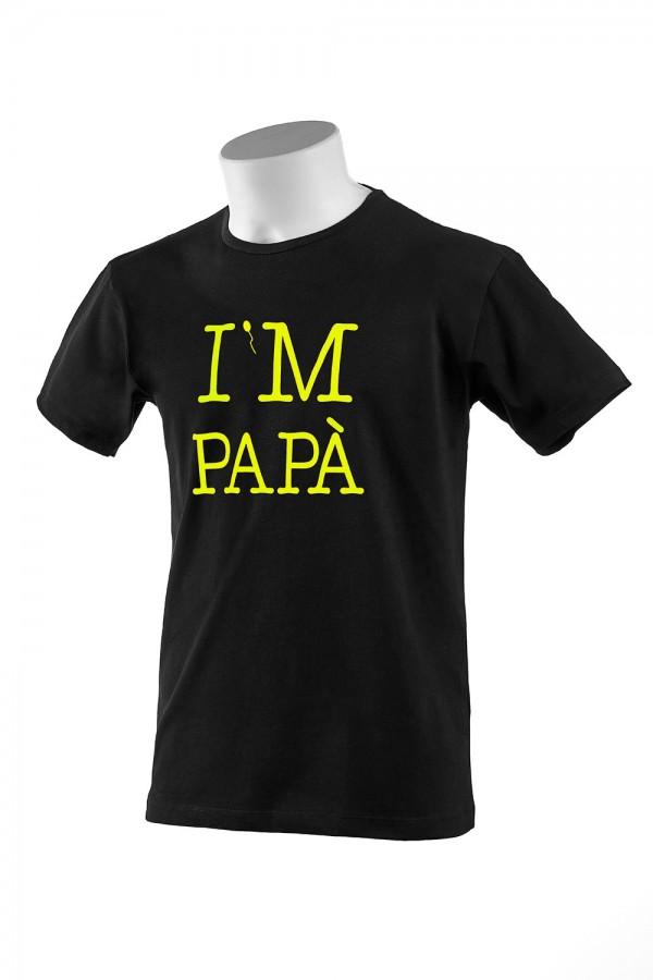 "T-shirt  Uomo Nera ""I'M..."