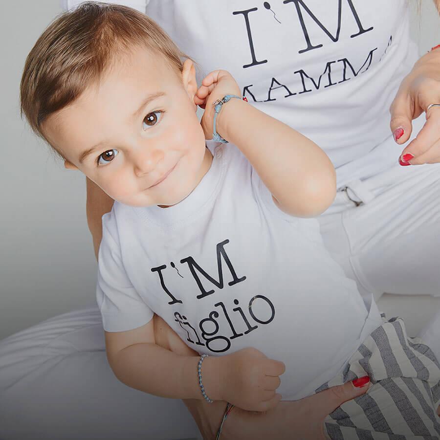 T-Shirt per Figlio e Figlia