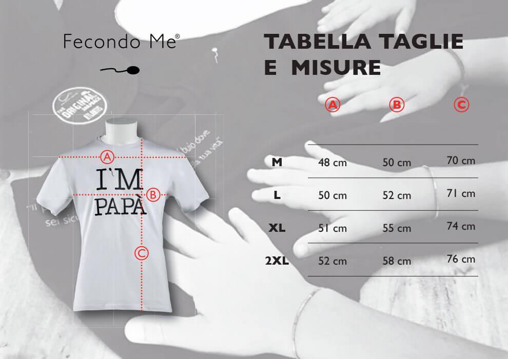 Tabella Taglie Uomo